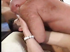HOT TWINK FUCKED BY 2 DADYS