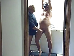 Chubby daddy get punished