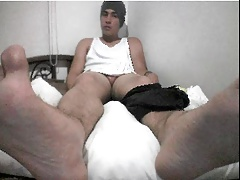 straight guy feet webcam 1