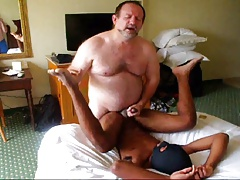 Daddy Fucks Sweet Black Boy