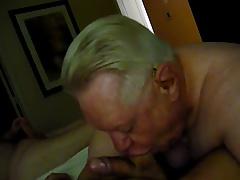 Another Hot Grandpa Blow Job