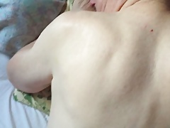 Touching his back before fucking