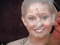 Shawn Johnson Cum Facial Tribute