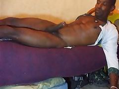Str8 daddy stroke in bed
