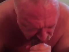 marcus giving a hot blowjob