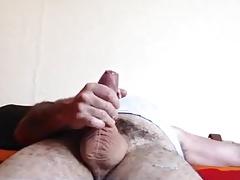 Str8 Bulgarian daddy stroke his meat