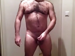 Daddy strips on webcam