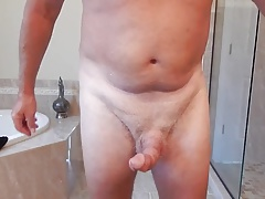 Cock slapping contest