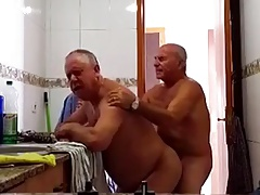 Grandpas in the kitchen