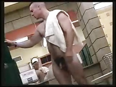 Str8 hidden cam spy military men in lockerroom