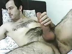 Str8 horny daddy on bed ll