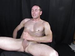 Str8 horny daddy stroke