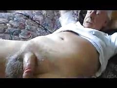 Grandpa cum hands free