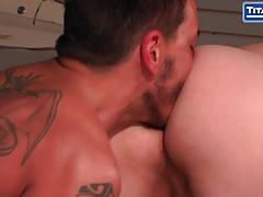 Adam Hearst Gets Pounded By Tattooed Latin Handyman