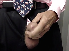 expose tickle drip & cum closeup