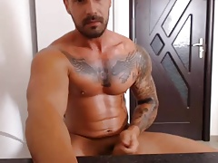 Str8 muscle Vladimir on cam