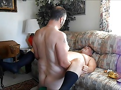 Sunday morning couch fuck