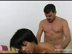 Daddy Fucks Asian Twink Hunter