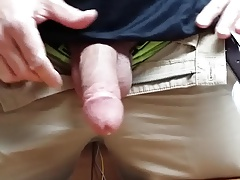 Str8 daddy horny at work