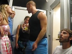 Str8 fun play - horny at the party