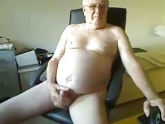 sexy grandpa cum on cam