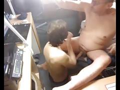 grandpa has a great blowjob by woman