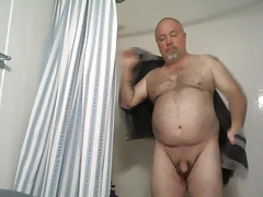 Wank and a shower