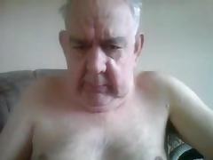 grandpa with big cock stroke