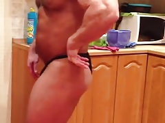Str8 muscle massive flexing