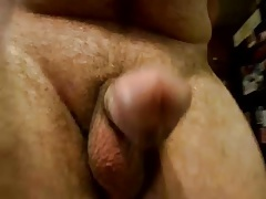 Hard dick walking
