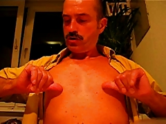 Mustache and nipple