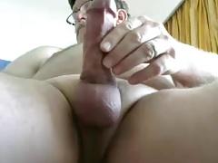 grandpa stroke on cam(no cum)