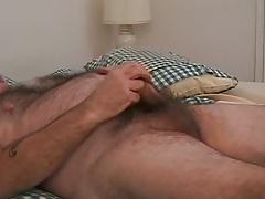 Silverdaddy bear jerk off 2