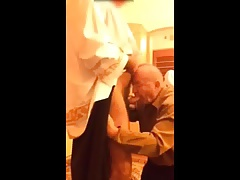 grandpa suck priest