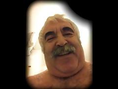 grandpa stroke show and cum