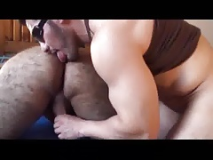 Eating Hot Hairy Married Dude's Ass! (with sweet nipple)