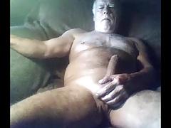 sexy grandpa stroke on cam (no cum)