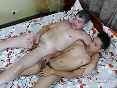 not daddy Mike Bareback Fucks Asian Boy Arjo