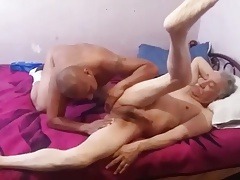 old man get sucked and fucked