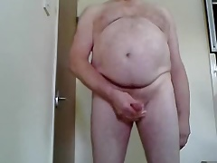 Wanking and Cumming on Cam