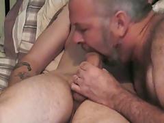 John milks his young cub