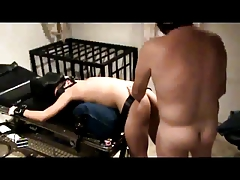 Tied Twink Slave Thanks Daddy Master for Pounding