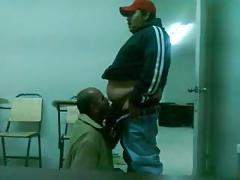 Sucking chub guy