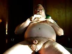 big beard daddy bear cumming