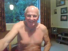grandpa cum on cam