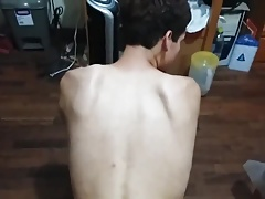Twink gay made to have dirty sex and deep throat PERU