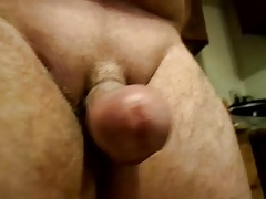Small hard dick no balls