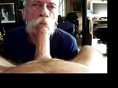 big moustache cock sucker