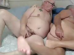 grandpa couple fuck on cam