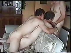 Richard fucked and getting facial